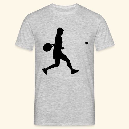 tennis woman 2 - T-shirt Homme