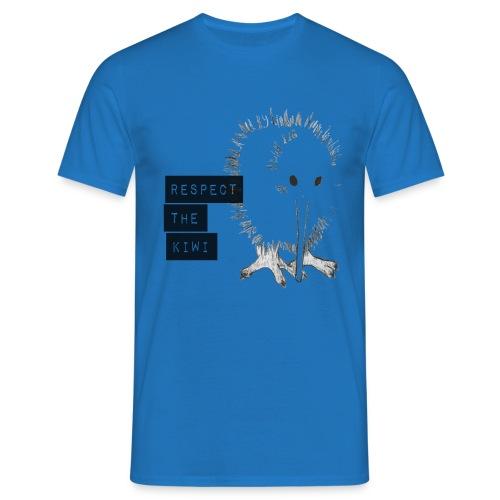 Respect the Kiwi - Männer T-Shirt