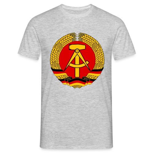 Hammer und Zirkel / Ostdeutschland - Eastgermany - Männer T-Shirt