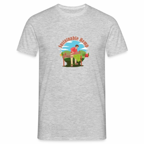 Cáñamo Sustentable en Inglés (Sustainable Hemp) - Camiseta hombre