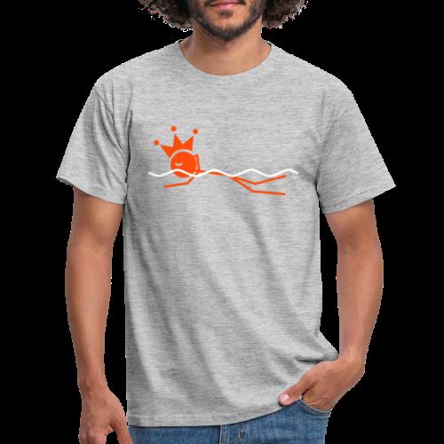 Zwemkoning - Mannen T-shirt