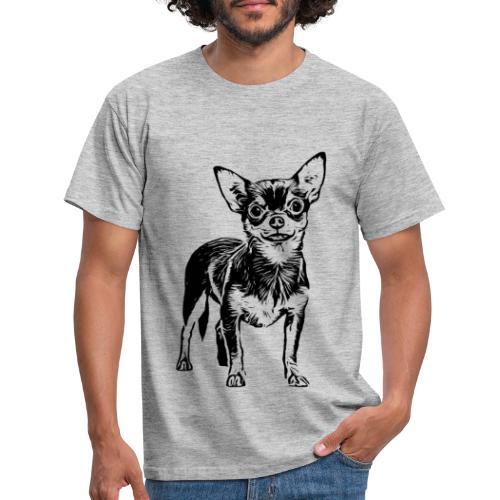 Chihuahua Hunde Design Geschenkidee - Männer T-Shirt