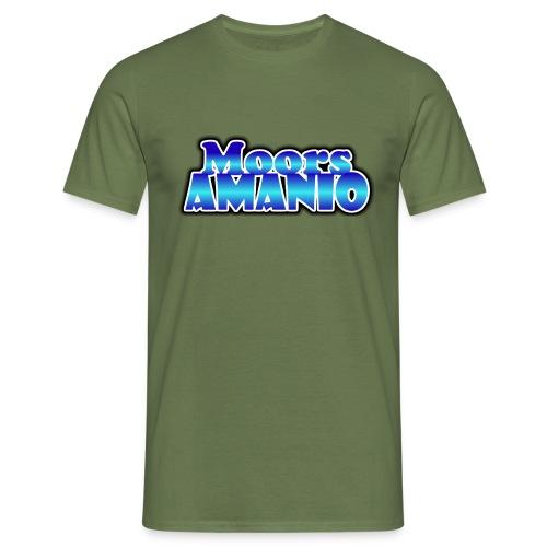 MoorsAmanioLogo - Mannen T-shirt