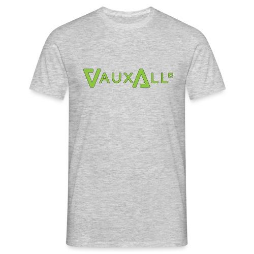 VauxAll Logo | Green | Original - Men's T-Shirt