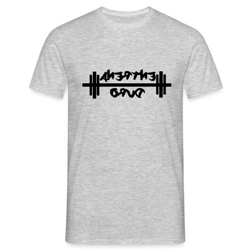 Para el Espejo: GYM - ENTRENA DURO - Camiseta hombre
