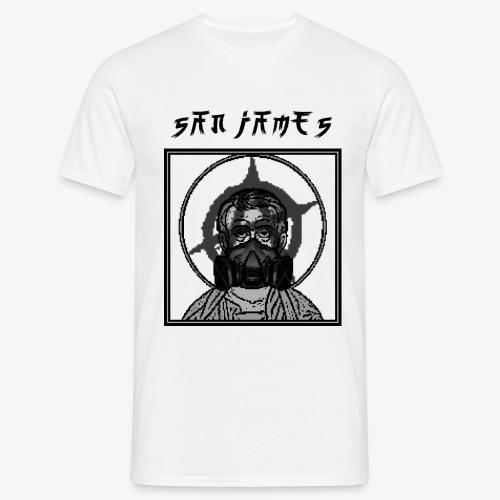 San James Logo+Txt no font - T-shirt Homme