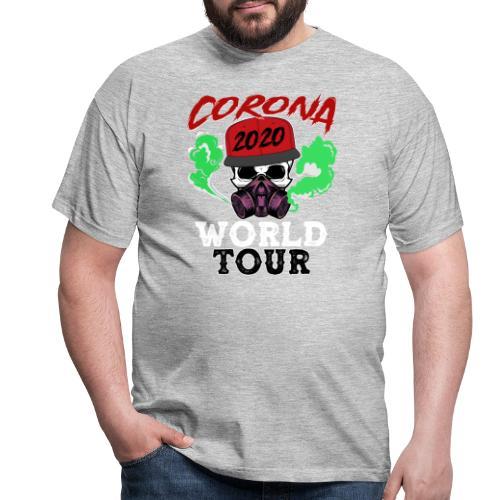 CORONA 2020😷 - Corona World Tour (Music) - Männer T-Shirt