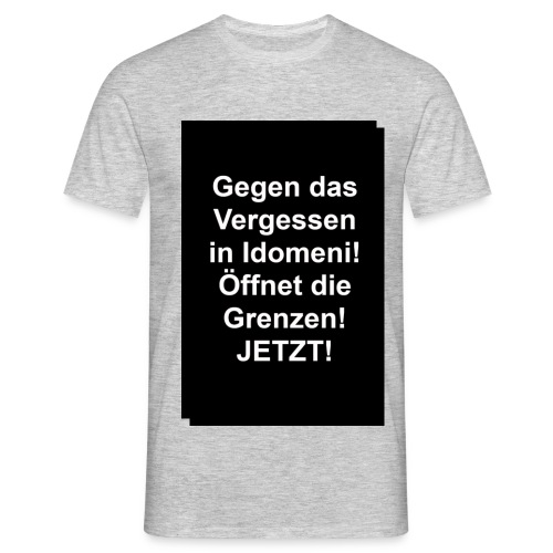 Gegen das Vergessen - Männer T-Shirt