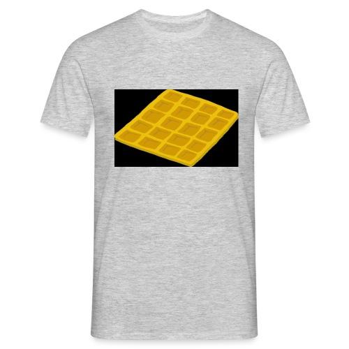 Waffel - Männer T-Shirt