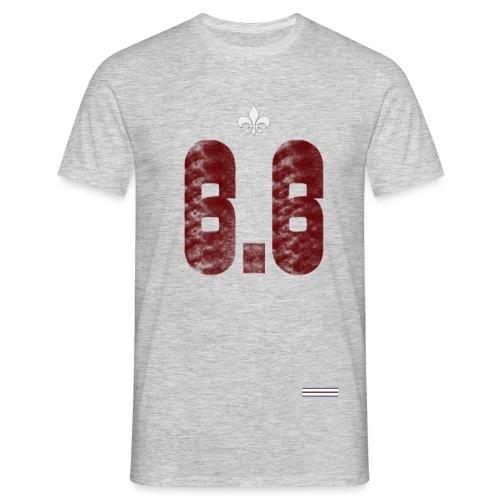6.6 front - T-shirt herr
