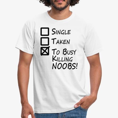 Killing Noobs - Men's T-Shirt