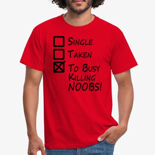 Killing Noobs - Men's T-Shirt