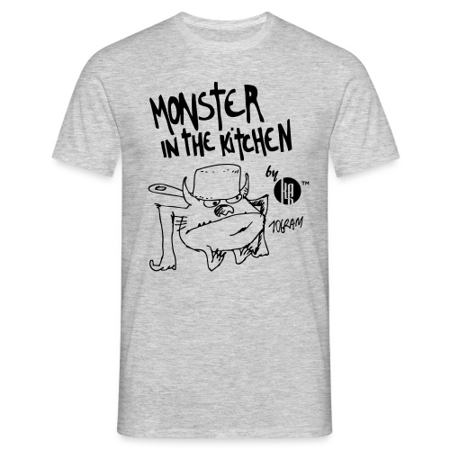 Monster in the kitchen - T-shirt Homme