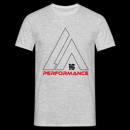 LA Performamce black/red - Männer T-Shirt