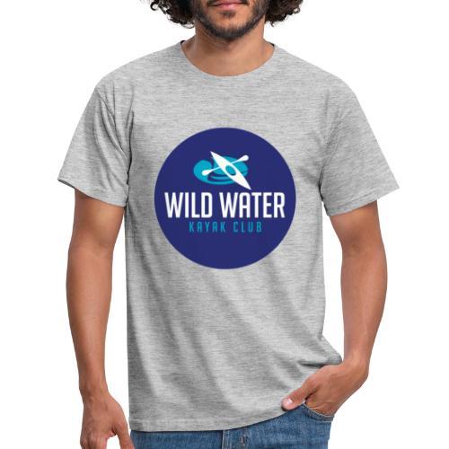 Logo Blue Circle - Men's T-Shirt