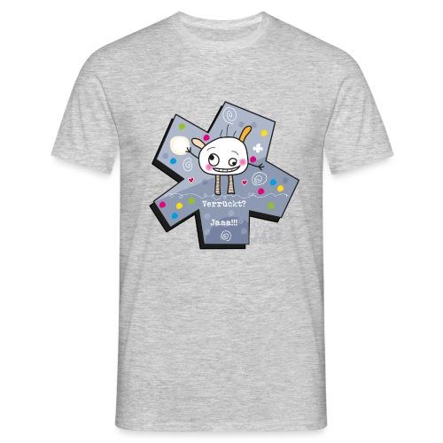 kleinMü - Verrückt? - Männer T-Shirt