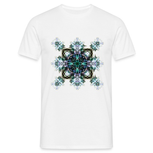 Psychedelic Flake - Männer T-Shirt