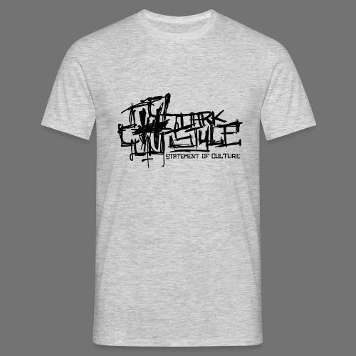 Tumma Style - Statement of Culture (musta) - Miesten t-paita