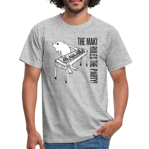 the maki rules the party! - Männer T-Shirt