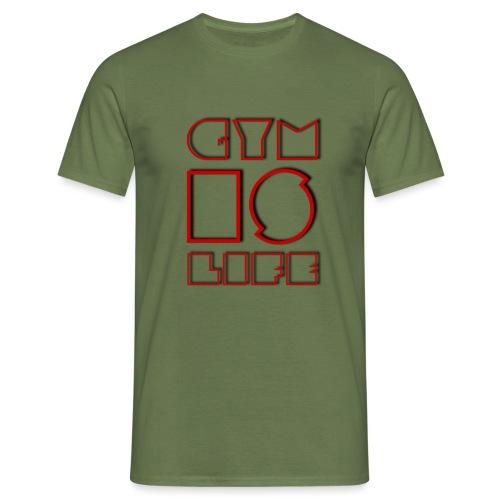 FIELD #4 // GYM IS LIFE - Männer T-Shirt