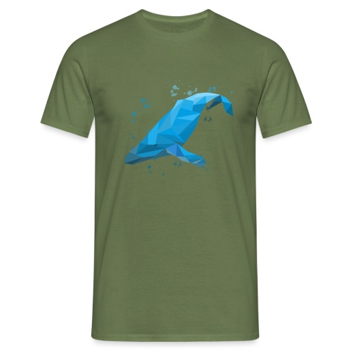 Wal Buckelwal Blauwal Naturschutz - Männer T-Shirt