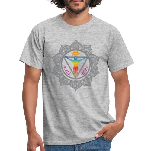 Yoga-Sonnengruß-Chakra - Männer T-Shirt