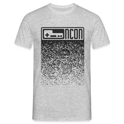 ncon pixel dark - Männer T-Shirt