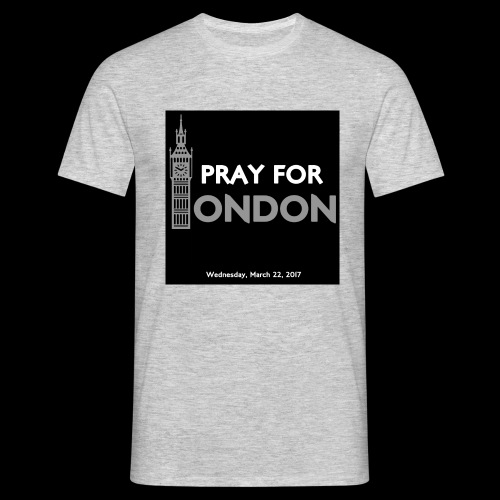 PRAY FOR LONDON - T-shirt Homme