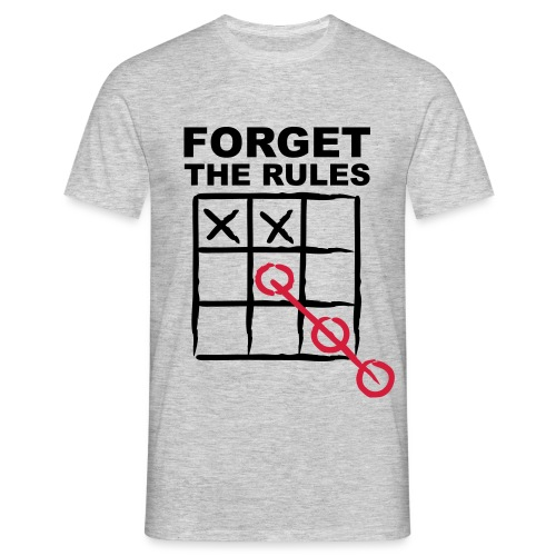 Forget the rules2 - T-shirt Homme