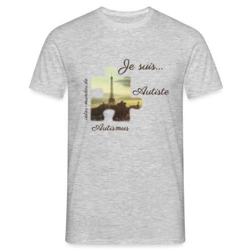 Je suis Autiste - Männer T-Shirt