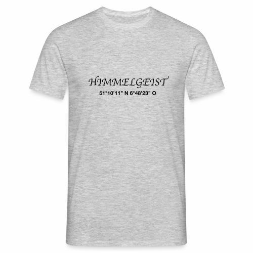 HIM Koordinaten sw - Männer T-Shirt