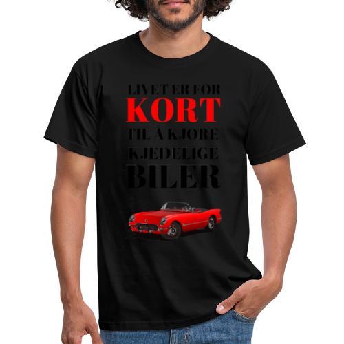Bilinteressert - T-skjorte for menn