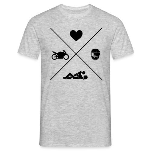 Biker Lifestyle Design - Männer T-Shirt