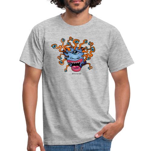 Mystified Eyeball Monster - Mannen T-shirt