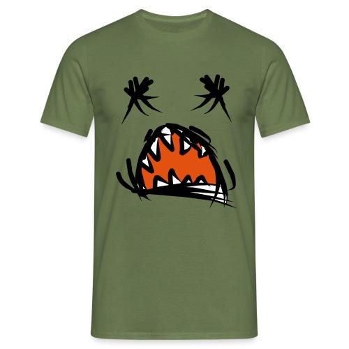 horror mond - Mannen T-shirt