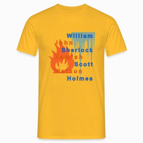 Feuer und Eis - Männer T-Shirt