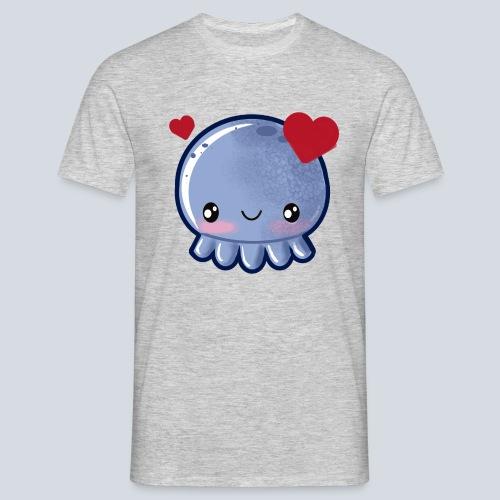 Octoliebe - Männer T-Shirt