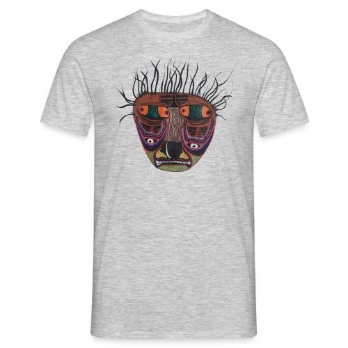 Weird Mask - Männer T-Shirt