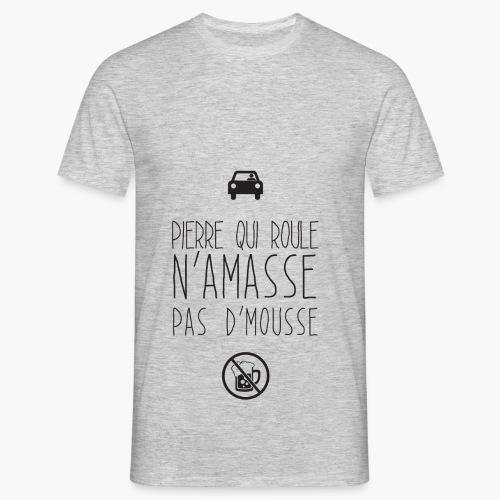 Pierre qui roule - T-shirt Homme