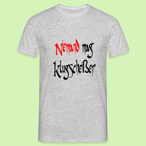 Klugscheißer - Männer T-Shirt