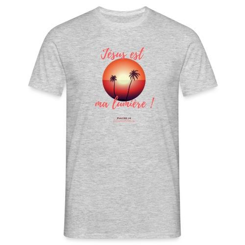Jésus est ma lumière ! - T-shirt Homme