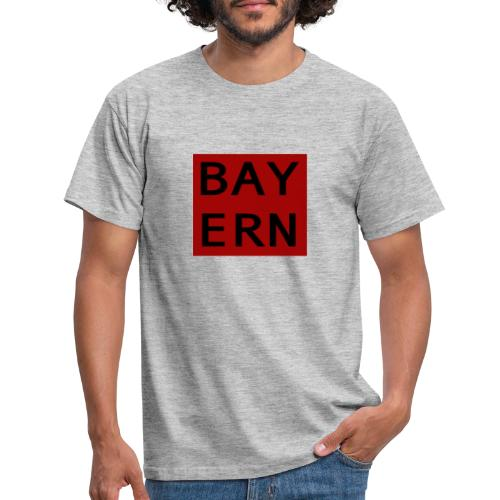 Bayern - meine Heimat - Männer T-Shirt