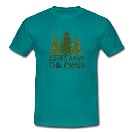 Gones save the pines - T-shirt Homme