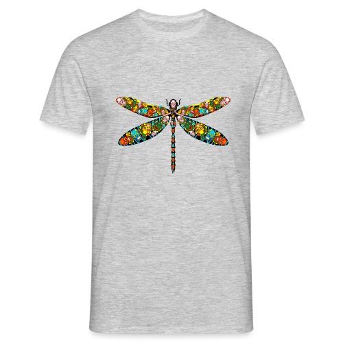 DRAGONFLY SKULL - Männer T-Shirt