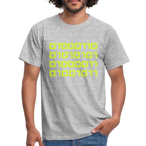 IO Fuck Binaire - T-shirt Homme