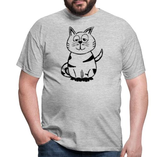 Diego the cat standalone - Männer T-Shirt