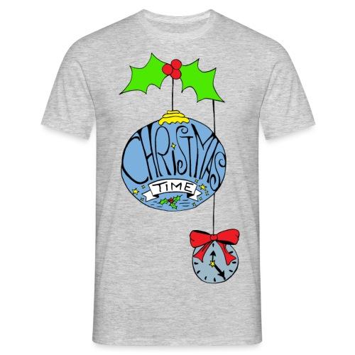 Christmas Time - Männer T-Shirt