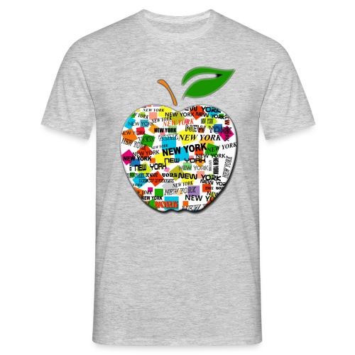 ny apple - Maglietta da uomo