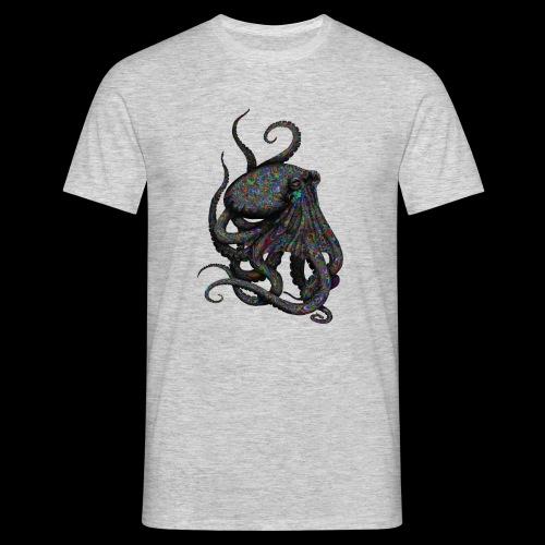 Oktopus Goa - Männer T-Shirt