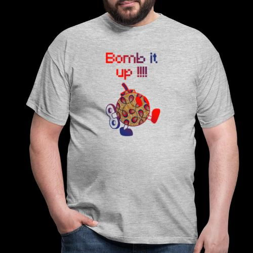 Bomb It Up : Red Power !!! - T-shirt Homme